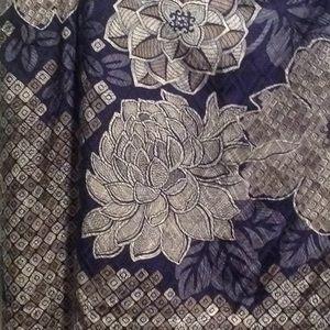 Talbots skirt 12W 34W 23L lined silk cotton